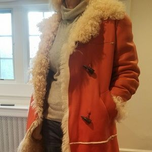 Curly Shearling Coat --Stand Out and Stay Warm
